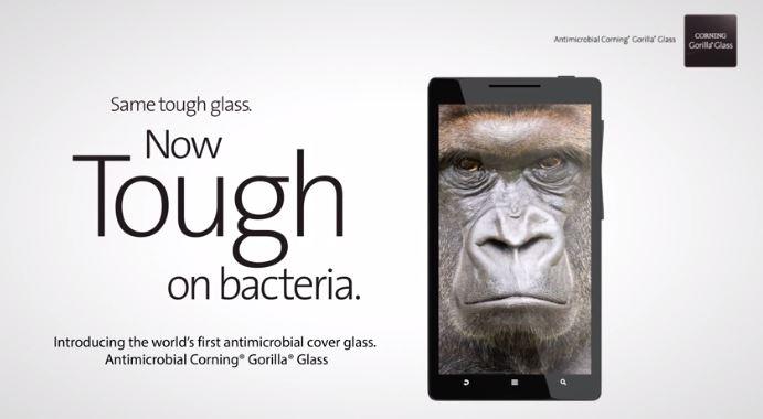 ecran-gorilla-glass-antimicrobe
